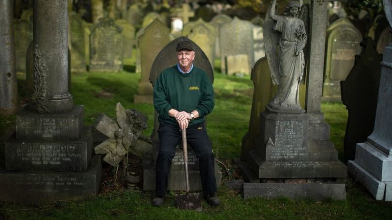 'I've come home in tears': Gravedigger of 35 years opens up on unusual career