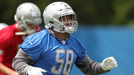 Penei Sewell: First padded practice like first sip of water in the desert