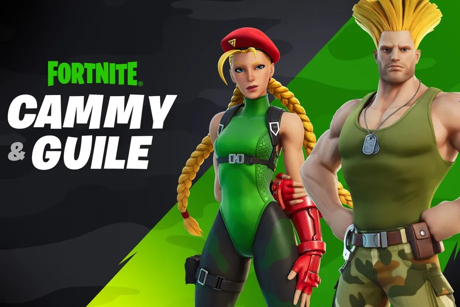 Street Fighter's Guile and Cammy are coming to Fortnite